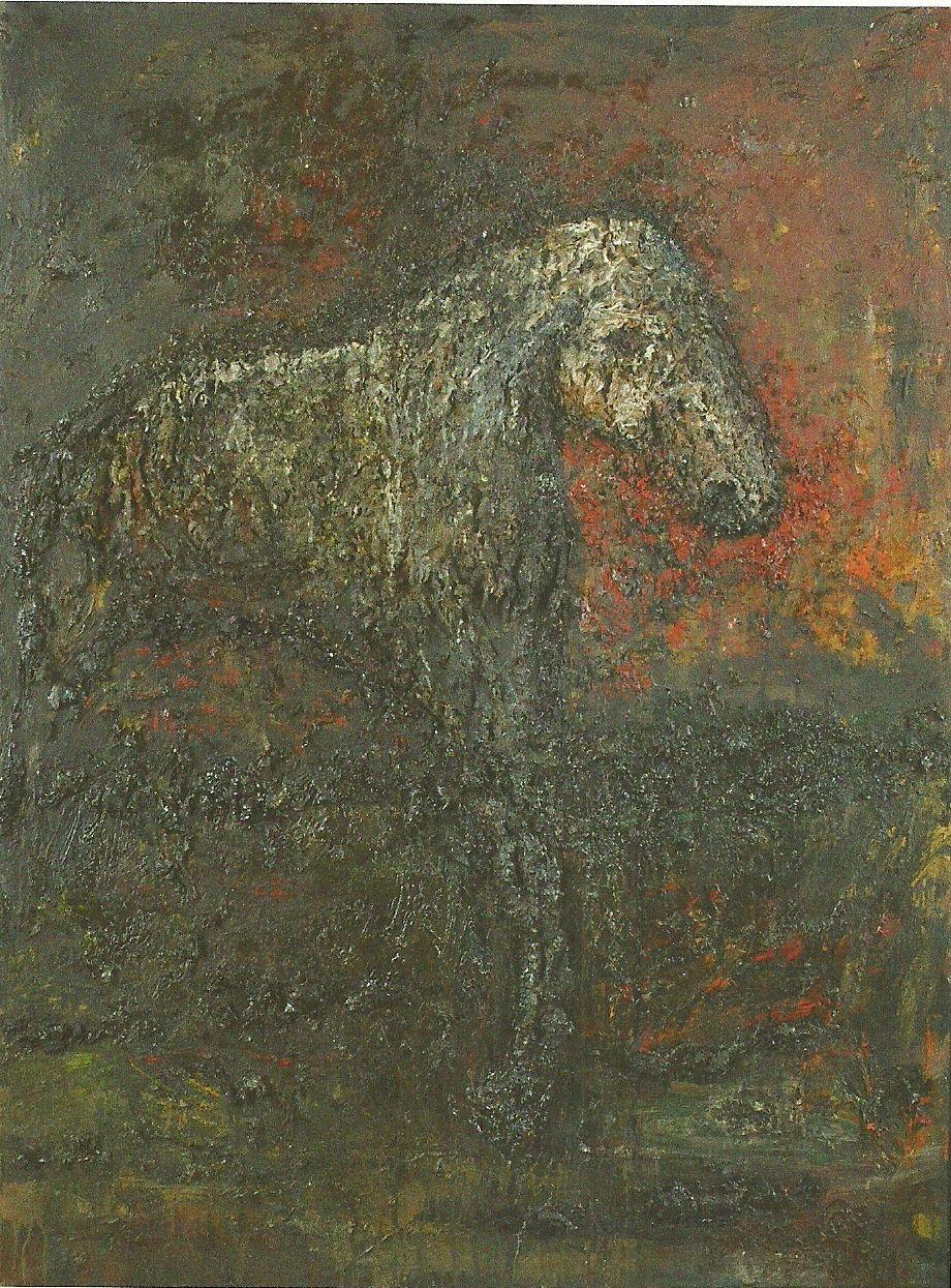 Baksai József: A ló, 1992 (Ösztöndíjas volt 1990-93 között)