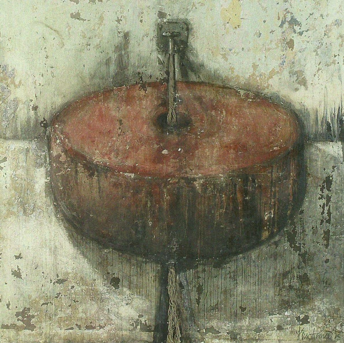 Erkel László: Víz-törés, 1992 (ösztöndíjas volt 1989-ben)