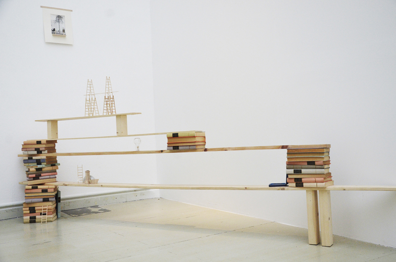 Tranker Kata: A nyugodt elmeállapot, installáció, vegyes technika, 2013
